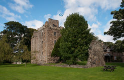 Old scotish castle Stock Image
