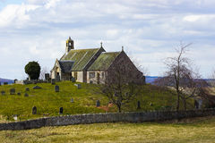 Old Scottish Church / Kirk Stock Photography