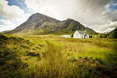 Old scottish cottage Royalty Free Stock Photos
