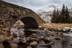 Old Scottish Stone Bridge Royalty Free Stock Photo
