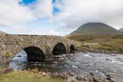 Old Scottish Stone Bridge Stock Photo