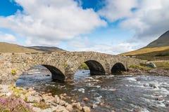 Old Scottish Stone Bridge Royalty Free Stock Image
