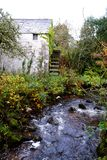 Old Scottish water wheel. Stock Images