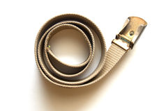 Old Scout belt Stock Image
