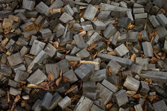 Old scrap lumber Royalty Free Stock Photography