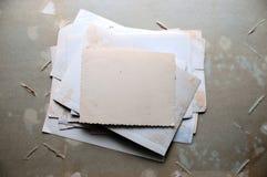 Old scrapbook Stock Photos