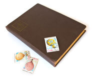 Old scrapbook Royalty Free Stock Photo