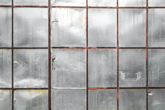 Old scratch metal sheet wall texture Stock Photography
