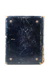 Old scratched book. Old hardcover blue scratched book with clipping path Stock Photography