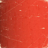 Old scratched card with halftone gradient Royalty Free Stock Photo