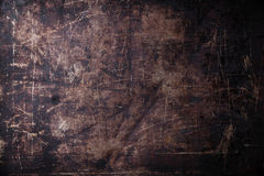 Old scratched dark background Royalty Free Stock Images
