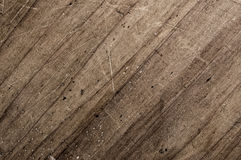 Old scratched surface. Old scratched wooden table surface Stock Image