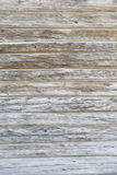 Old scratched timber wall. Old scratched tree log wall background Royalty Free Stock Images