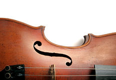 Old violin detail Stock Image