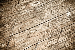Old scratched wood texture Stock Image
