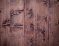 The Old scratched wooden board. Stock Image
