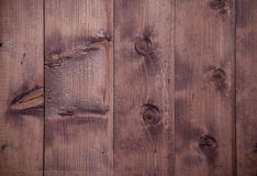 The Old scratched wooden board. royalty free stock photography