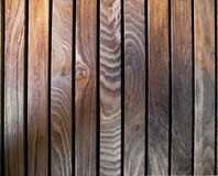 Old scratched wooden planks. Royalty Free Stock Image