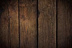 Old scratched wooden texture. Stock Photos