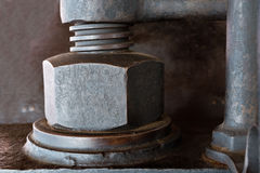 Old Screw Royalty Free Stock Images