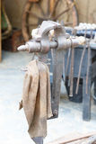 Old screw tool Royalty Free Stock Photos