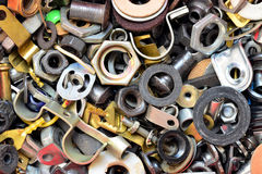 Old screw Royalty Free Stock Photo