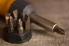 Old screwdriver Stock Photos