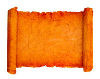 Old scroll. With rough edges Royalty Free Stock Image