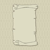 Old scroll page background for your designs and Stock Photo