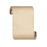 Old scroll paper Royalty Free Stock Image