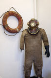 Old scuba suit Stock Image
