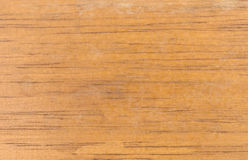 Old scuffed varnished wood background Stock Photography