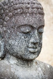 Old Sculpture - Buddha's face Stock Image