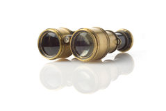 Old sea binoculars Royalty Free Stock Photography