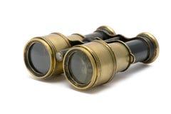 Old sea binoculars Stock Photography