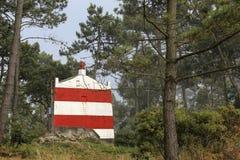 Old sea dune beacon Royalty Free Stock Photo