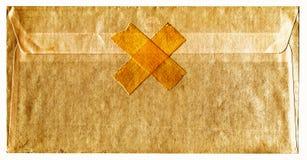 Old sealed envelope Stock Image