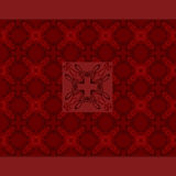 Old seamless royal luxury texture background Royalty Free Stock Photo