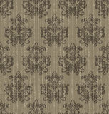 Old seamless wallpaper baroque Royalty Free Stock Images