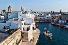 Old seaport of Monopoli Royalty Free Stock Photos