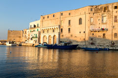 Old seaport of Monopoli Puglia. Italy. Royalty Free Stock Photos