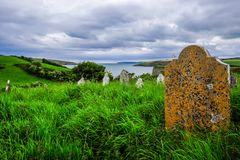 Old Seaside Graveyard Royalty Free Stock Images
