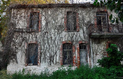 Old seaside house Stock Photo