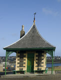 Old Seaside Shelter Royalty Free Stock Photography