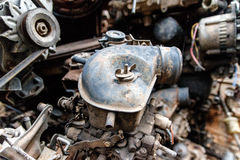Old Second Hand Spare Part 3. Old second hand spare part in Bangkok Thailand Royalty Free Stock Photos