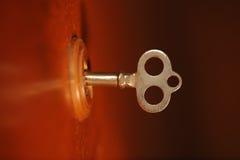Old secret key Royalty Free Stock Image