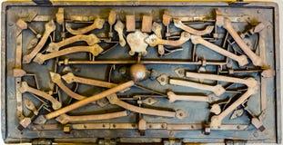 Old secret mechanism in castle museum, Europe