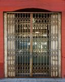 Old Security Gate Stock Photography