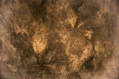 Old sepia concrete wall background texture Royalty Free Stock Image