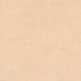 Old sepia graph paper square grid background. Stock Photos